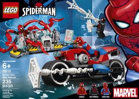 Le sauvetage en moto de Spider-Man LEGO Super Heroes 76113