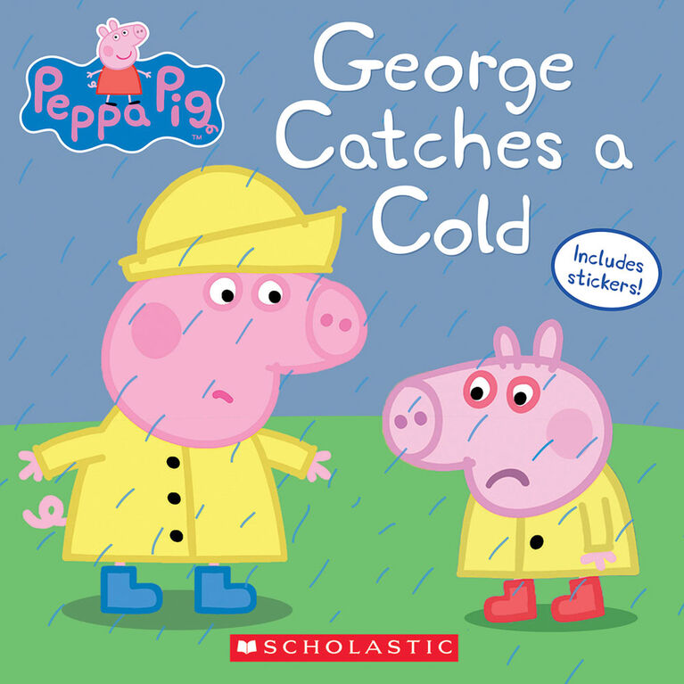 Peppa Pig: George Catches a Cold - Édition anglaise