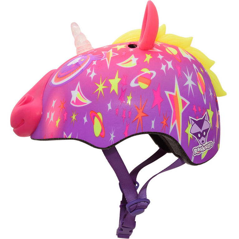 Raskullz - Child Super Lazer LED Multisport Helmet - Pink (Fits head sizes 50 - 54 cm)