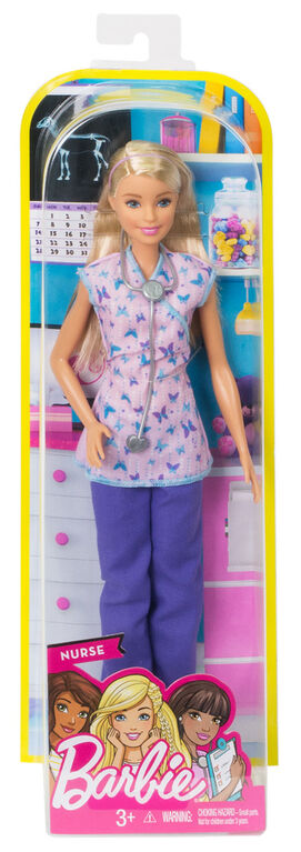 Barbie Careers Nurse Doll