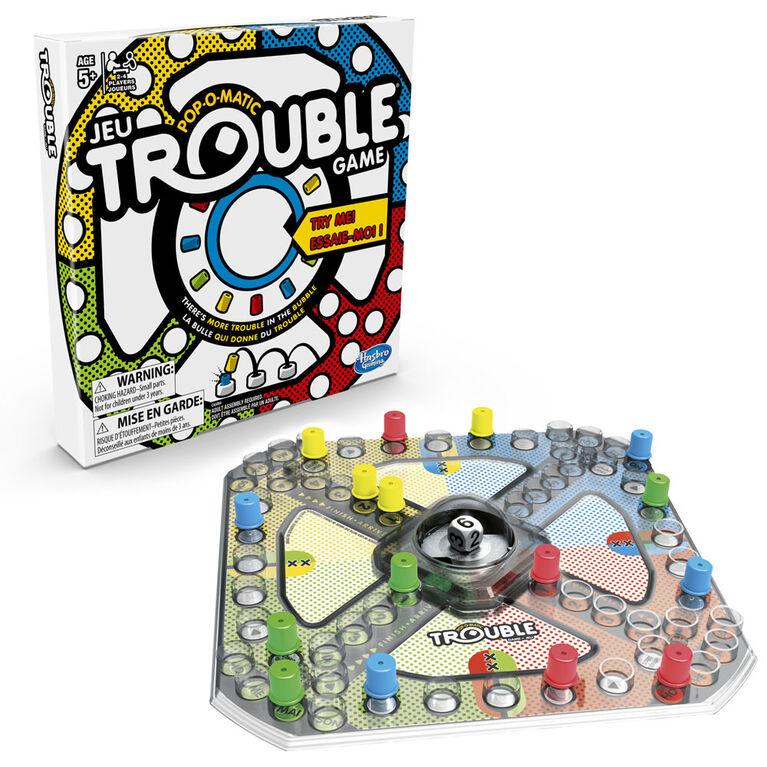 Jeu de plateau Trouble pour 2 à 4 joueurs