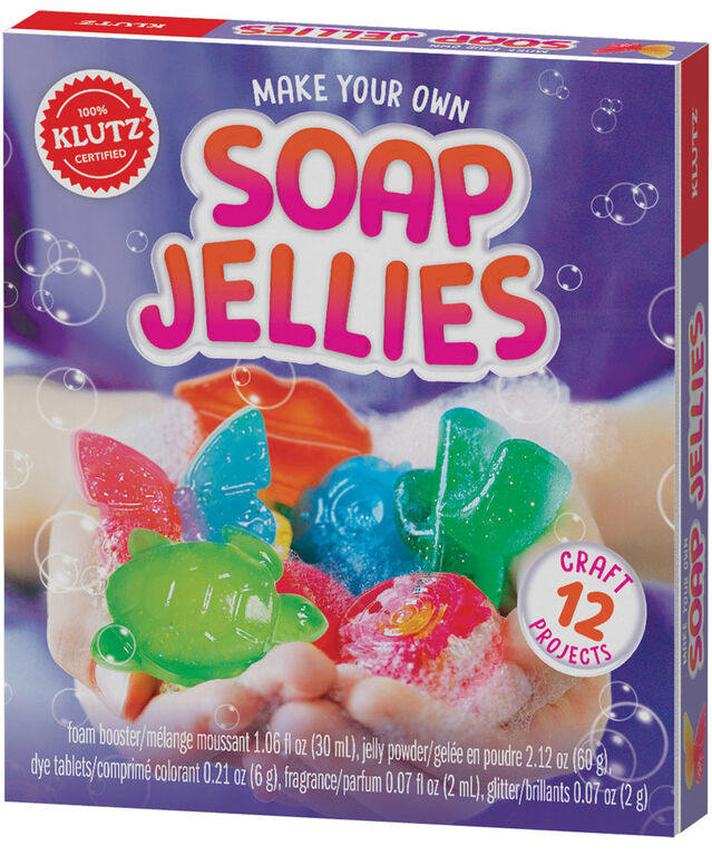 Klutz - Make Your Own Soap Jellies - English Edition