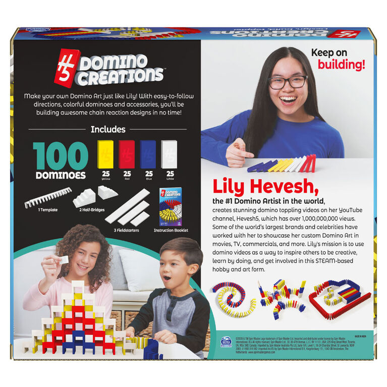Lily Hevesh, Domino Creations, Coffret de dominos - Édition anglaise