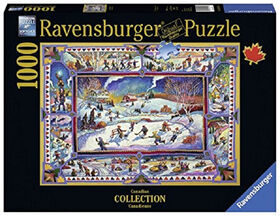 Ravensburger! John Burrow - Canadian Winter casse tête (1000pc)