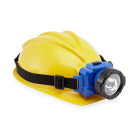 Just Like Home Workshop Helmet with Headlamp