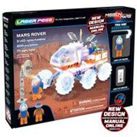Laser Pegs, Collection Mission sur Mars - Mars Rover 200 morceaux.