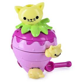 Twisty Petz Treatz, Strawberry Kittens Scented Stackable Collectible Bracelet