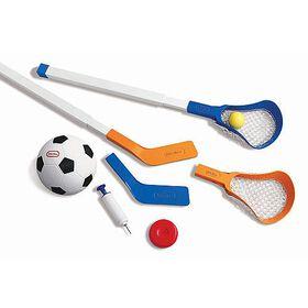 Little Tikes - Easy Score Soccer, Hockey and Lacrosse Set