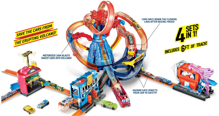 Hot Wheels Volcano Rescue Squad