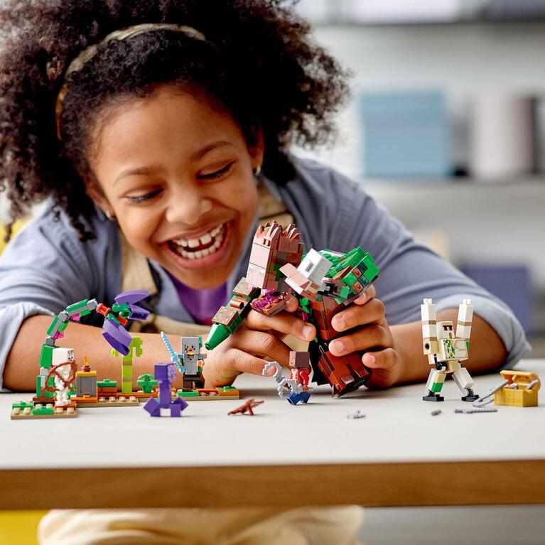 LEGO Minecraft L'abomination de la jungle 21176