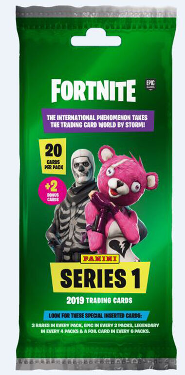 2019 Panini Fortnite Fat Pack