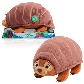 Raya et le Dernier Dragon de Disney - Peluche de Tuk Tuk à Plier et Enrouler