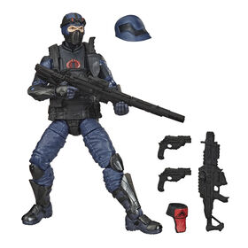 G.I. Joe Classified Series Special Missions: Cobra Island Cobra Trooper Action Figure 12 Premium Toy 6-Inch Scale - R Exclusive