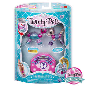 Twisty Petz, Series 3 3-Pack, Bling-Balm Turtle, Glitzerella Pony and Surprise Collectible Bracelet Set