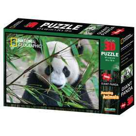 National Geographic - Giant Panda 500 Piece Super 3d Puzzle