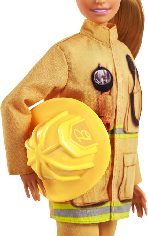 Barbie 60th Anniversary Firefighter Doll