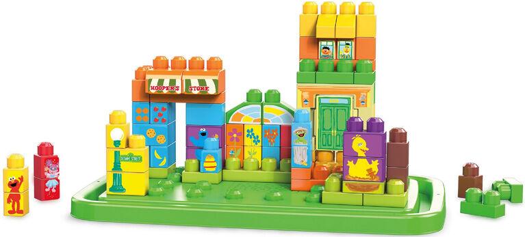 Mega Bloks Sesame Street Let's Build Sesame Street