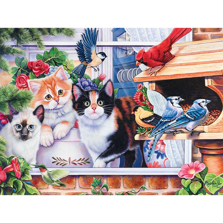 Family Hour Springtime Wonders Large 400 Piece Ezgrip Jigsaw Puzzle By Jenny Newland
