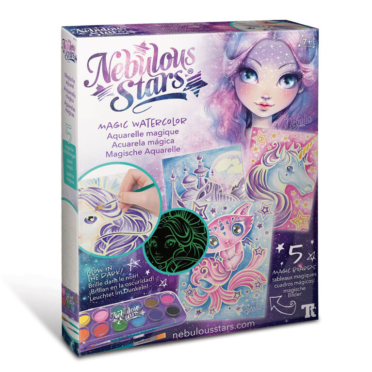 Nebulous Stars - Magic Watercolour-Nebulia