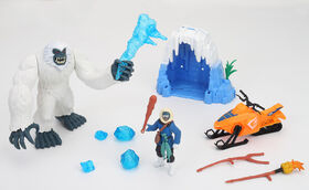 Animal Planet - Monster Adventure Playset - Yeti