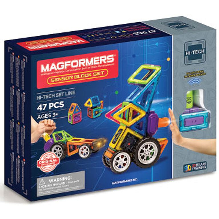 Magformers - Sensor Block 47 Piece Set.