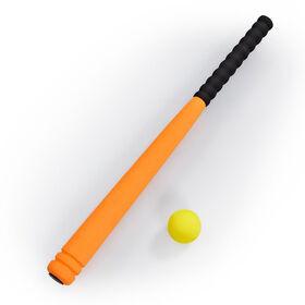 "Out and About 24"" Baseball Bat and Ball Set Orange"