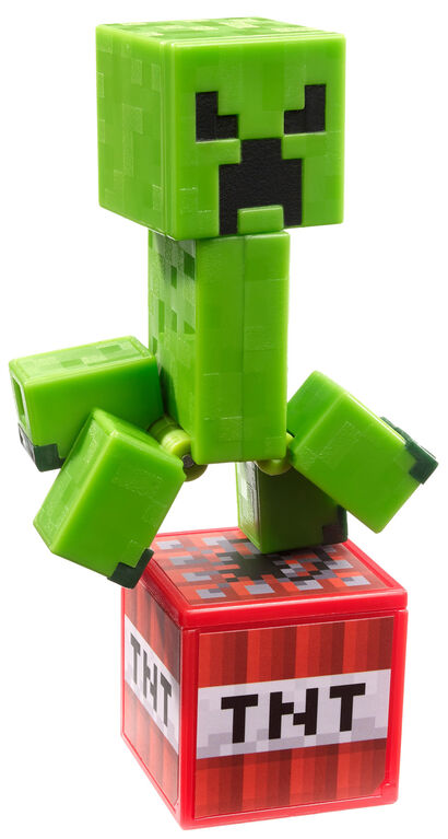 Minecraft Comic Maker Creeper Action Figure - English Edition