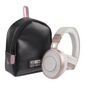 Casque d'écoute Bluetooth tactile Nick Jonas d'Altec Lansing - Or rose