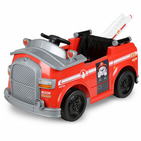 Marshall'S Fire Truck Ride On Vehicle Red - R Exclusive