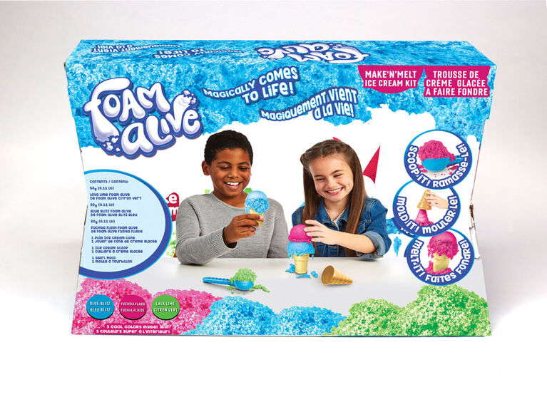 Foam Alive Ice Cream Kit