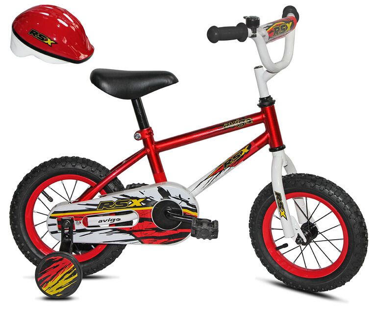 Avigo RSX avec casque  - Vélo 12 po