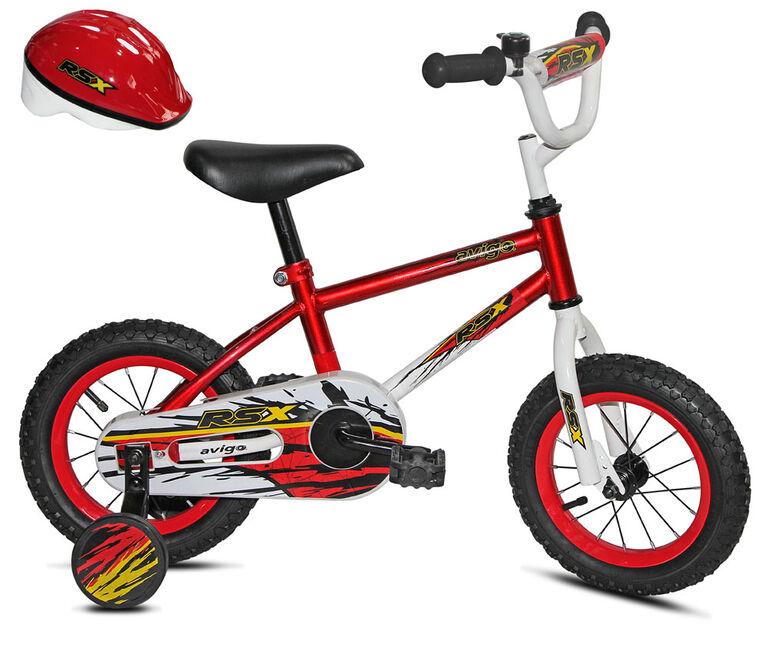 Avigo RSX with Helmet - 12 inch Bike
