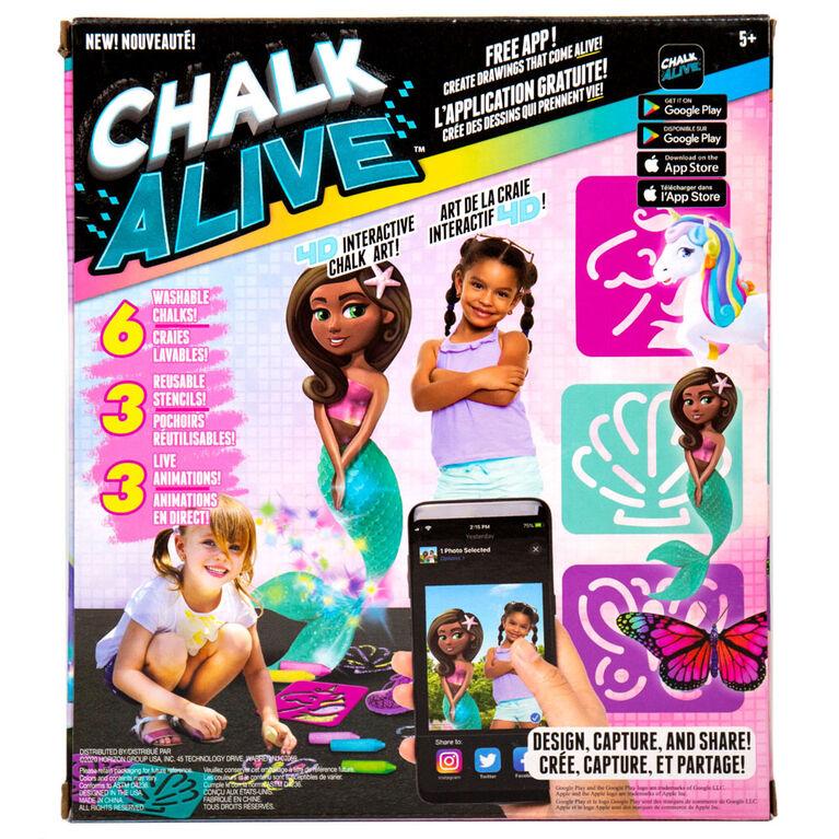 Chalk Alive Unicorn and Friends