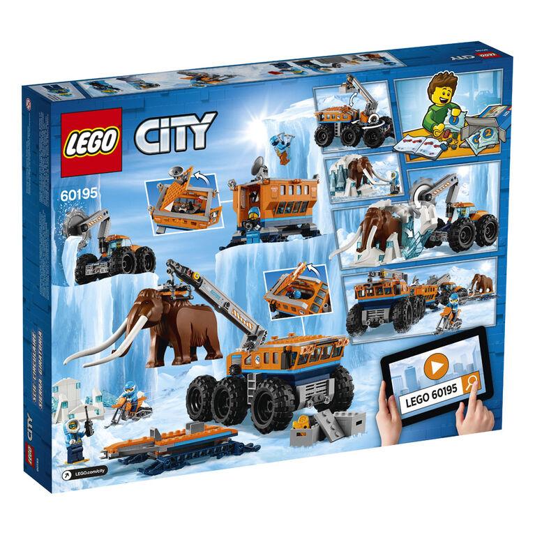 LEGO City Arctic Expedition Arctic Mobile Exploration Base 60195