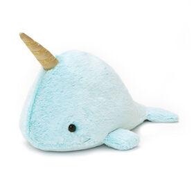 "GUND Nori Narwhal Stuffed Plush Whale, 12"""