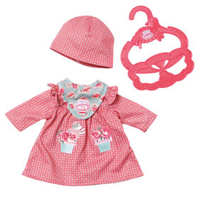 Baby Annabell Little Cozy Outfit Designs 36cm - red - R Exclusive