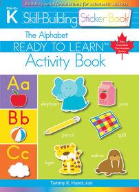 Alphabet Sticker Book - Édition anglaise