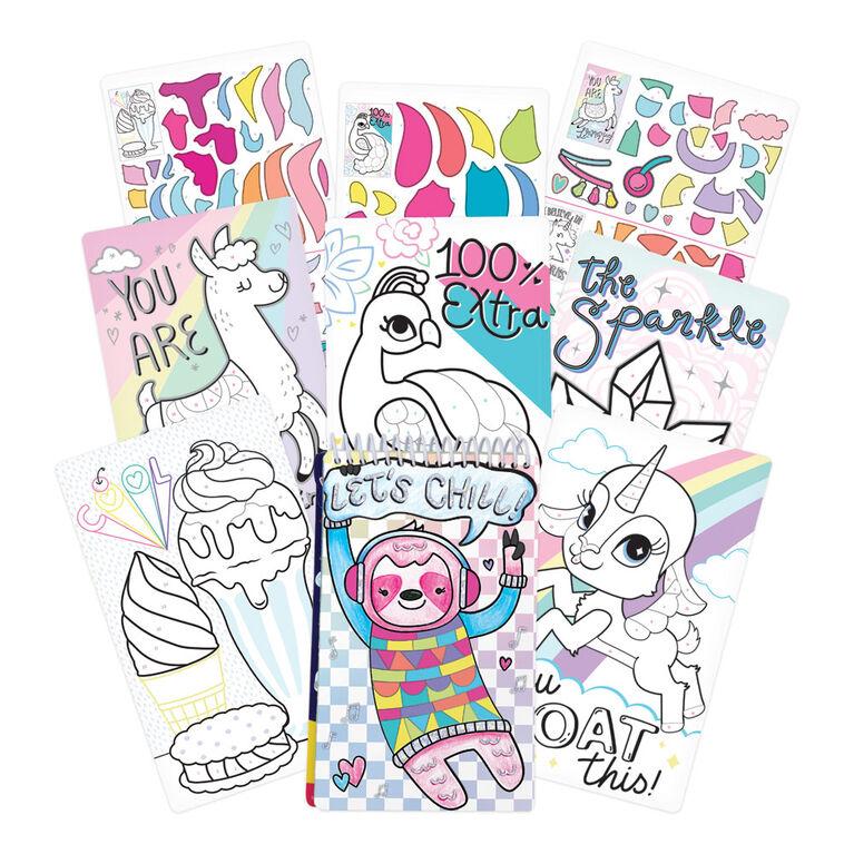 Sticker-By-Number- Llama