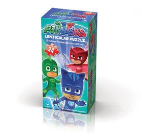 PJ Masks Kids Lenticular 24-Piece Puzzle