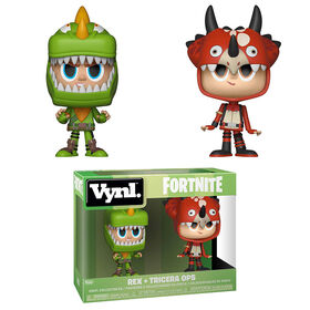Funko Vynl! Games: Fortnite - Rex and Tricera Ops Vinyl Figure