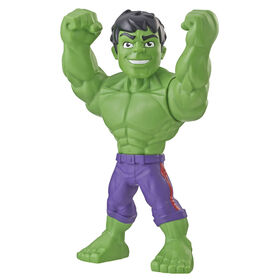Playskool Heroes Marvel Super Hero Adventures Mega Mighties Hulk Collectible 10-Inch Action Figure