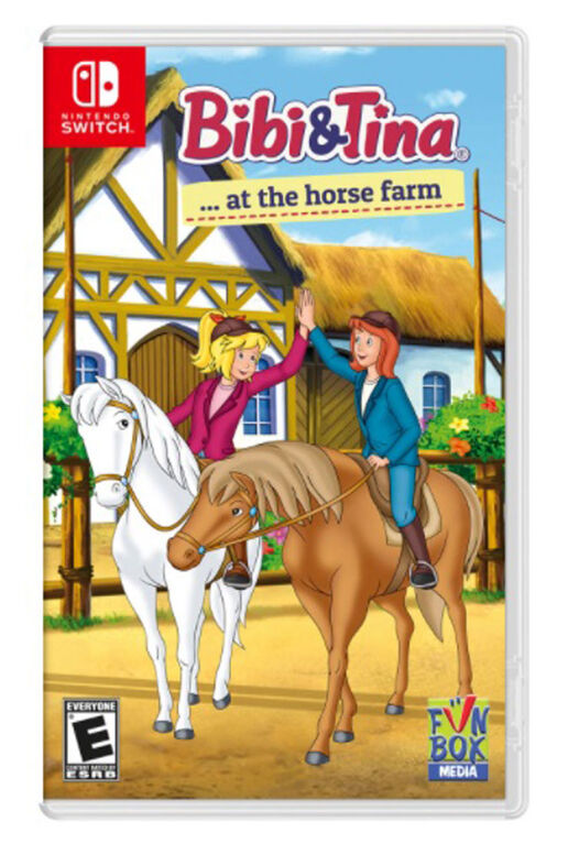 Nintendo Switch Bibi and Tina At The Horse Farm