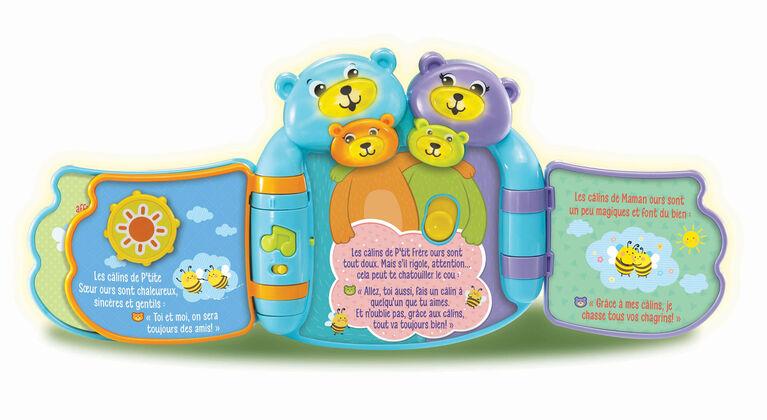 Hug & Learn Bears Book™ - French Edition
