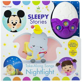 Disney Baby Sleepy Stories - Take-Along Songs Nightlight