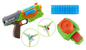 X-Shot Flying Bug Attack Swarm Seeker Foam Dart Blaster