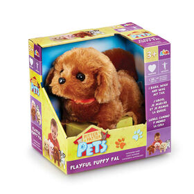 Pitter Patter Pets - Playful Puppy Pal Chocolate Brown Labrador - R Exclusive
