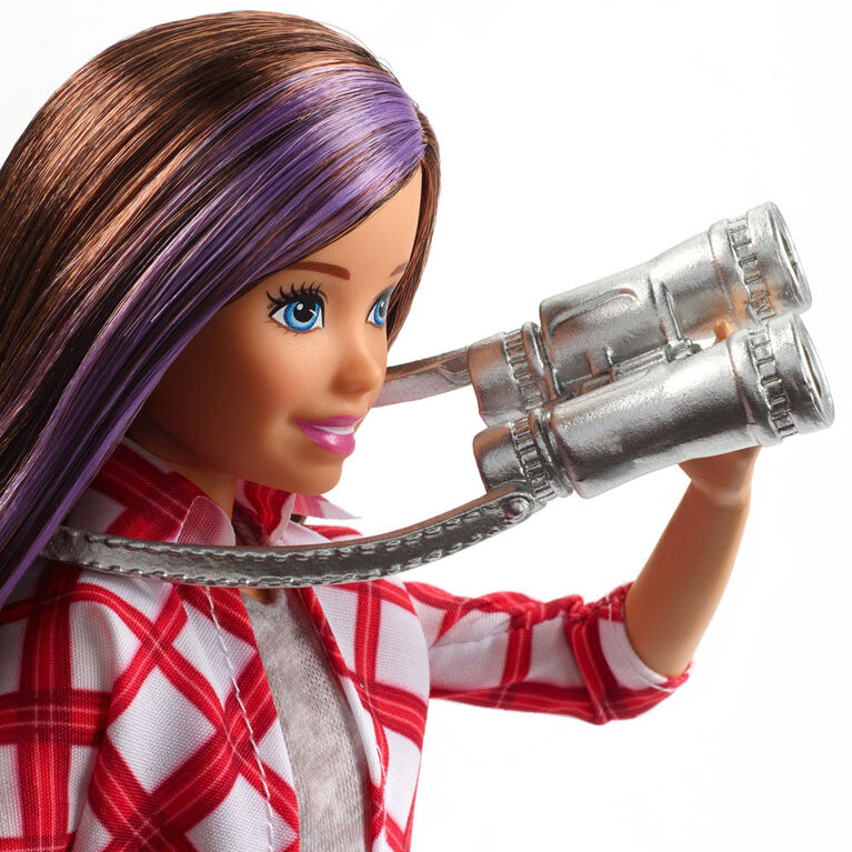 Barbie Travel Skipper Doll and Accessories Set
