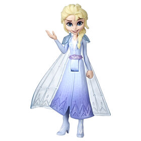 Disney Frozen Elsa Small Doll With Removable Cape Inspired by Frozen II