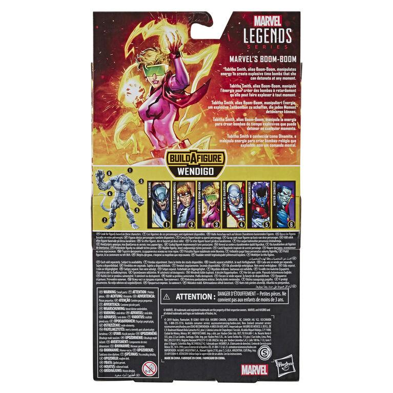 Marvel Legends Series - Marvel's Boom-Boom with Wendigo Build-a-Figure Part