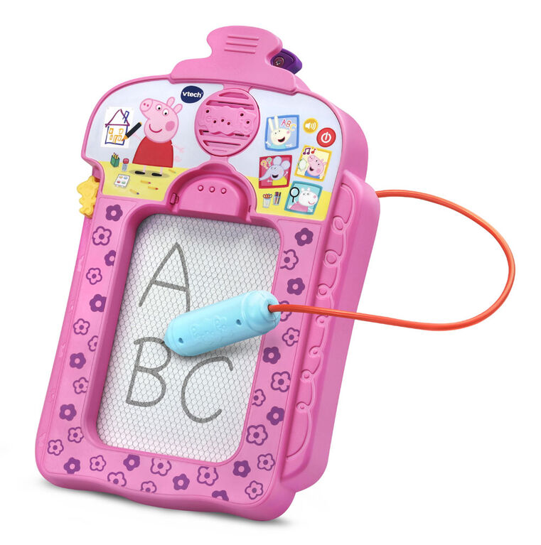 VTech Peppa Pig Scribbles & Sounds Doodle Board - Édition anglaise